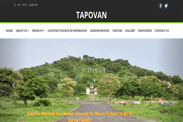 vms Mandal Tapovan Website